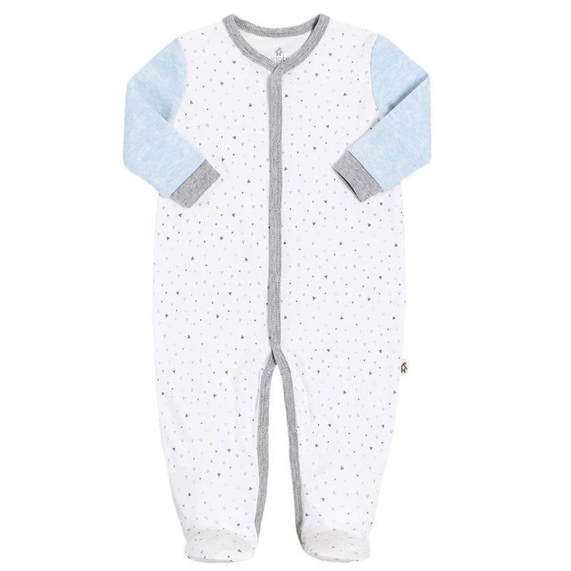 Premature Triangle 1 Piece Pajamas 3-5lb
