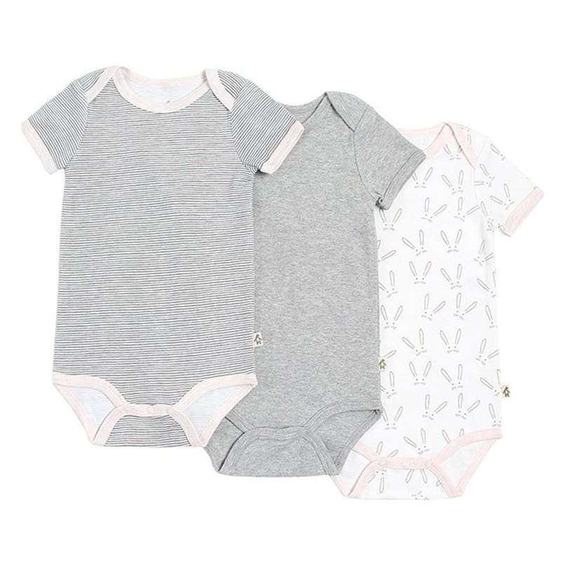 Rabbit Bodysuits 3-24m - Set of 3