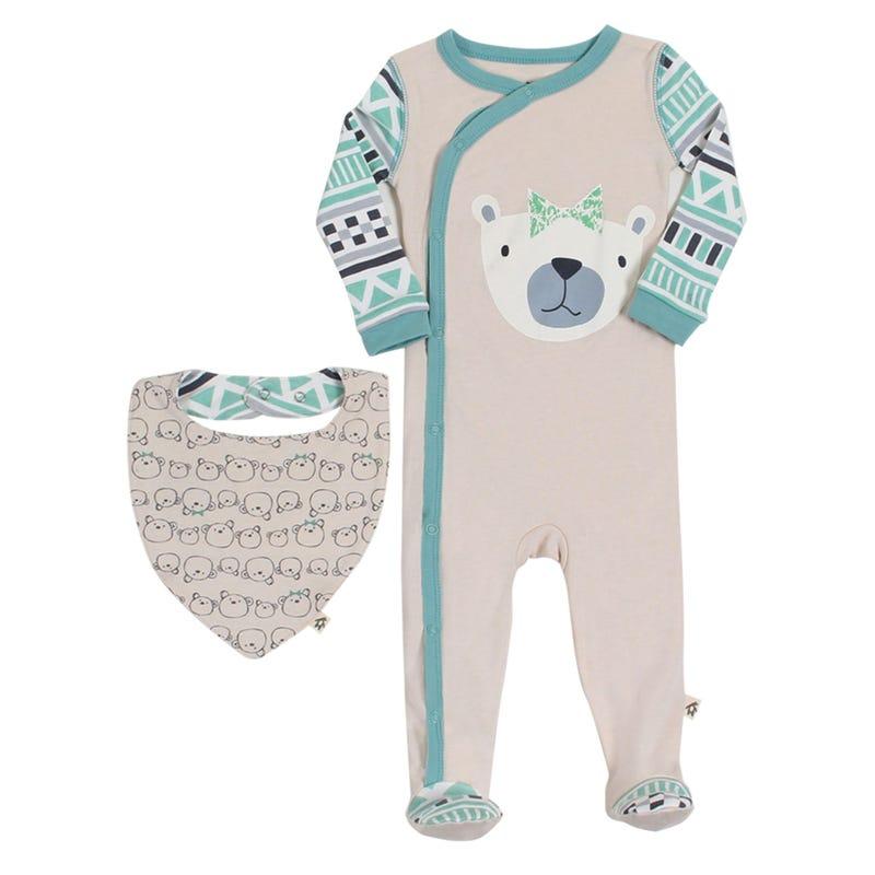 bear cub pajama 12-24m