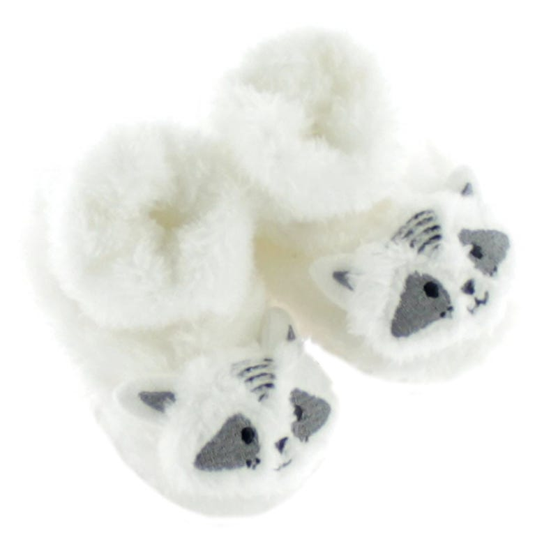 Raccoon Slippers 12-24m