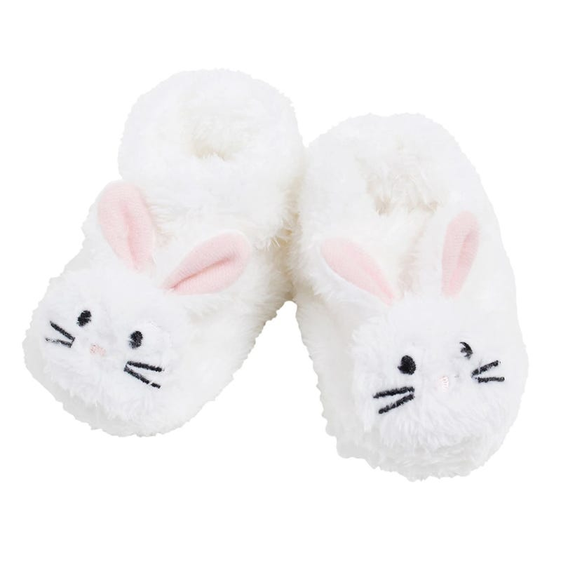 Bunny Slippers 0-12m