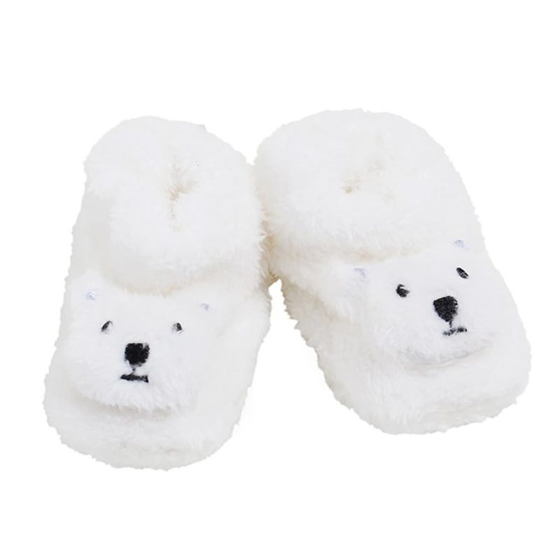 Bear Slippers 0-12m