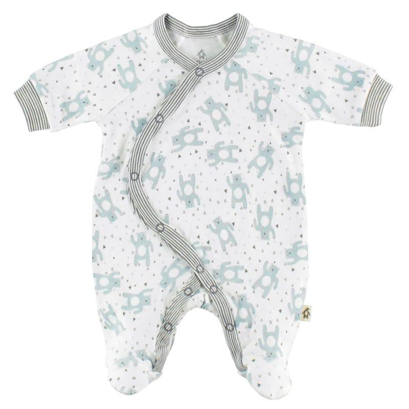 Pyjama Kimono Ourson 0-9mois