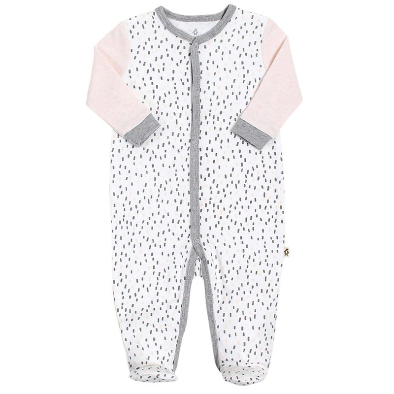 Rabbit Dot Pajamas  0-9m