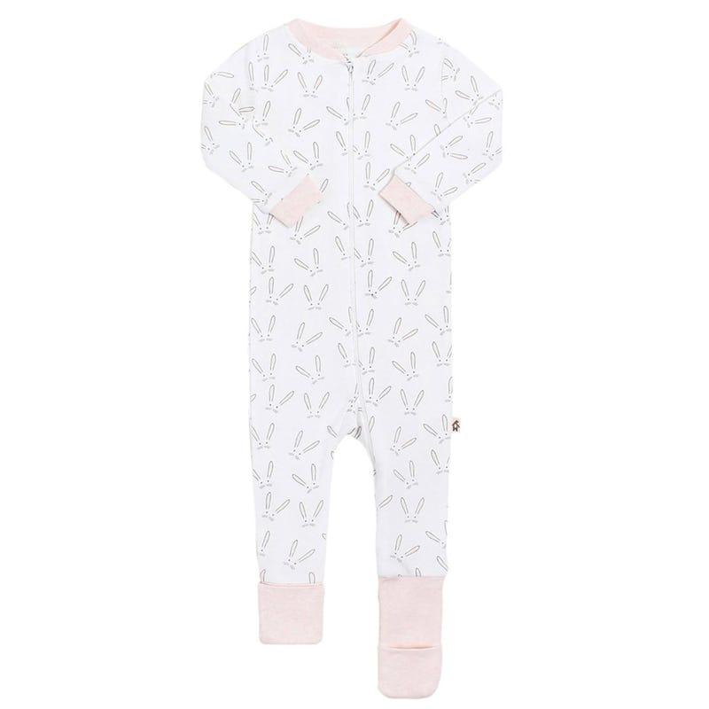 Rabbit Evolutive Print Pajamas 12-24m