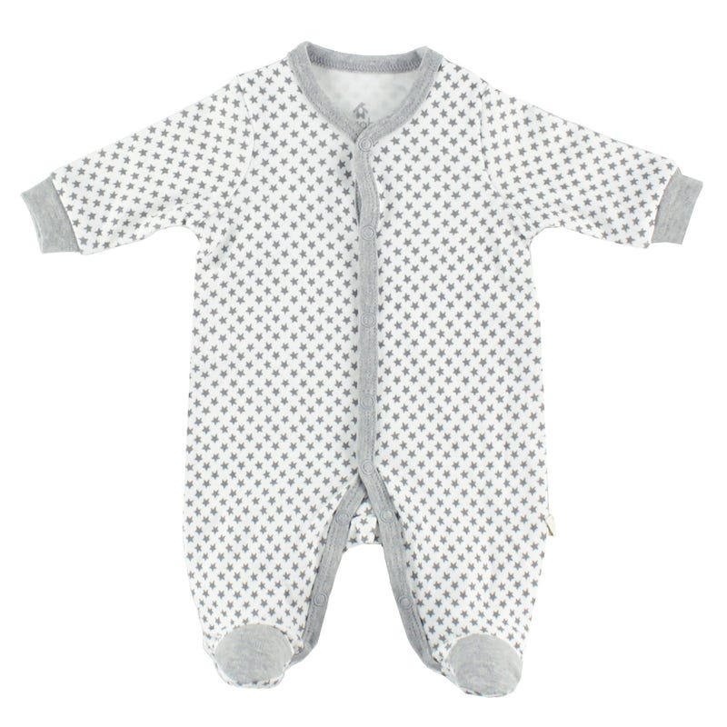 Star Raccoon Pajamas 0-9m