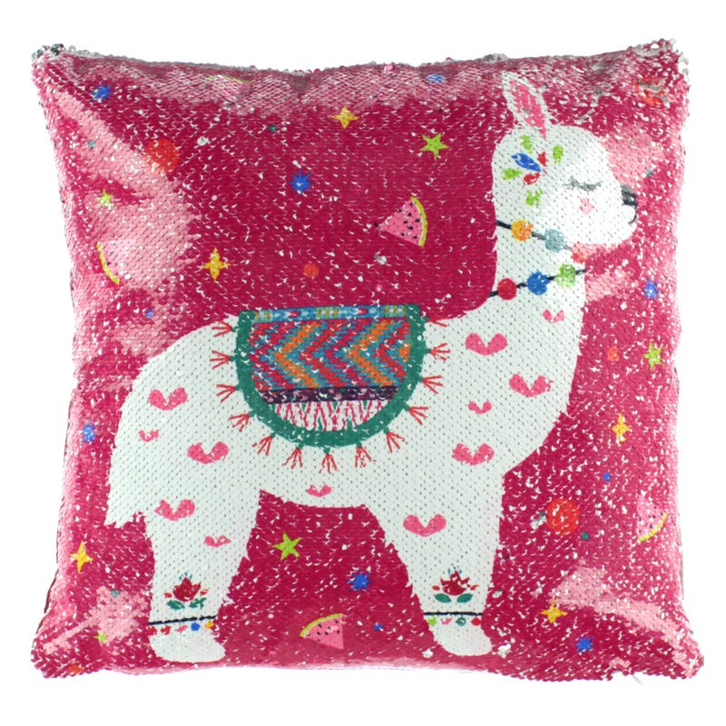 Cushion - Pink Lama
