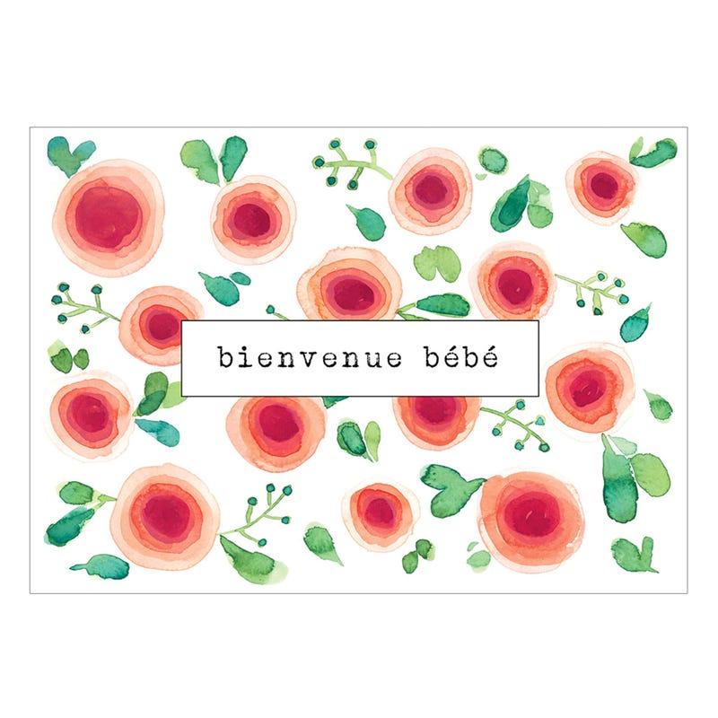Carte de Souhait - Bienvenue Bébé