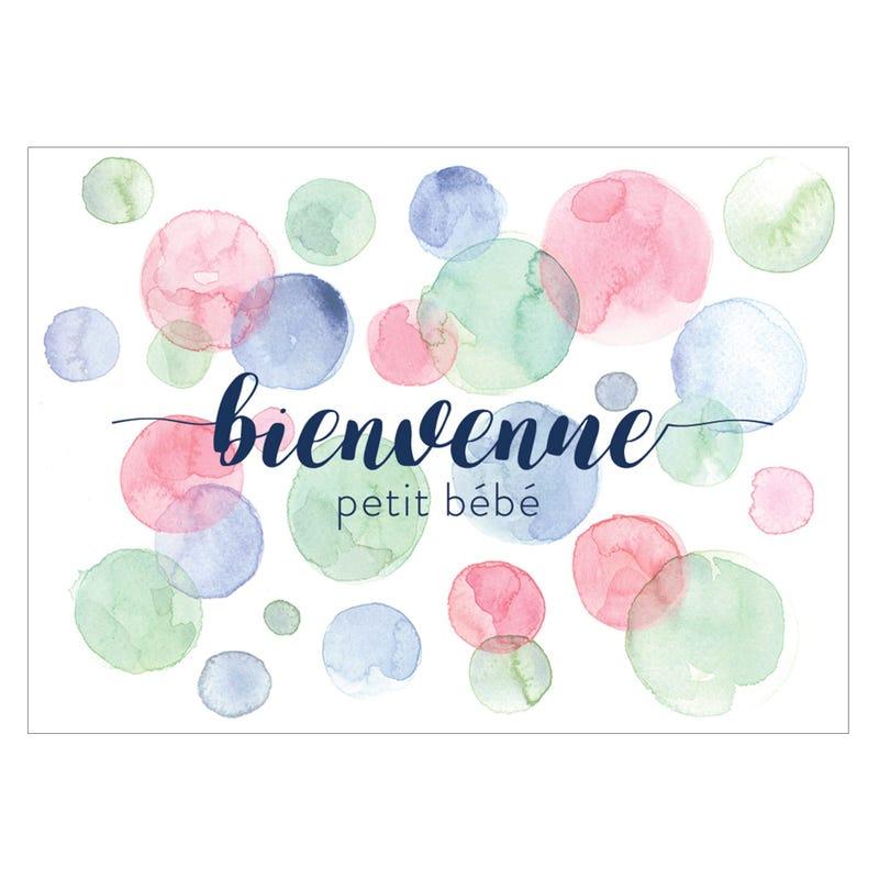 Wish Card Bienvenue Bébé
