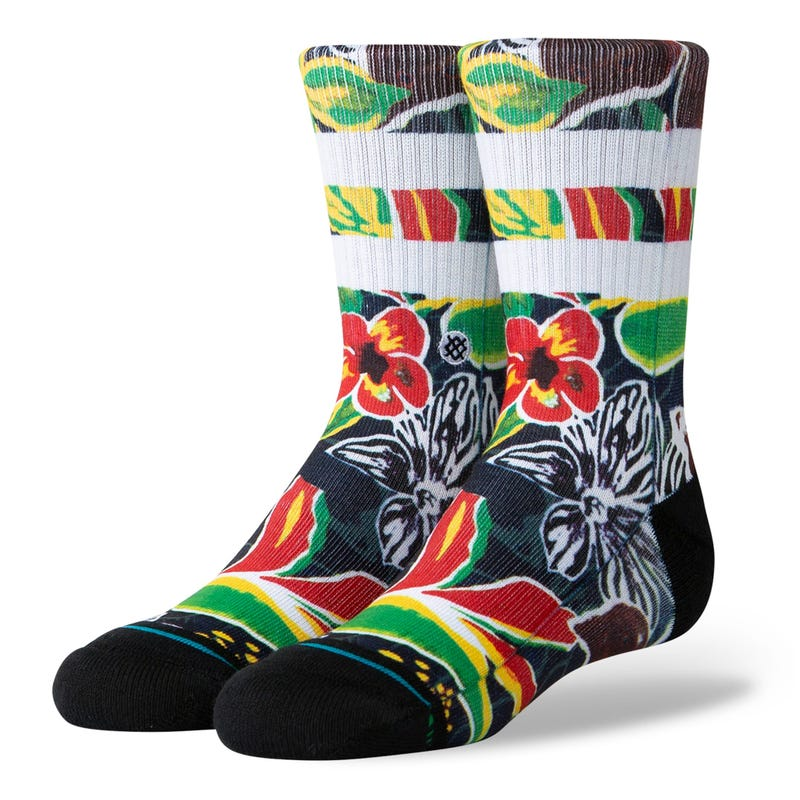 Tropical Time Socks Size 11-5