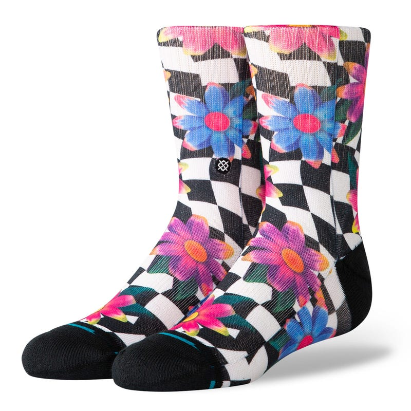 Crazy Daisy Socks Size 7-5