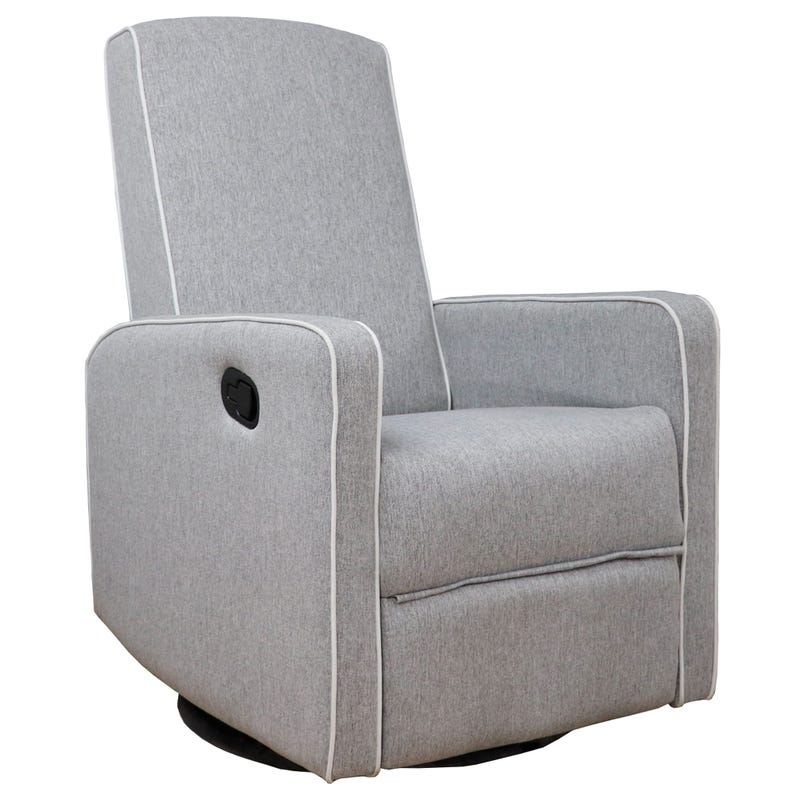 Rocking Armchair - Medium Grey