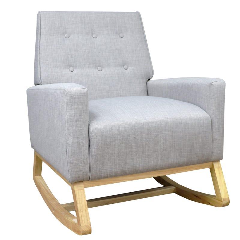 Rocking chair beige