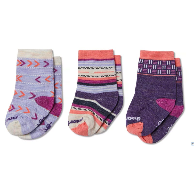 Cozy Baby Socks 24m Set of 3