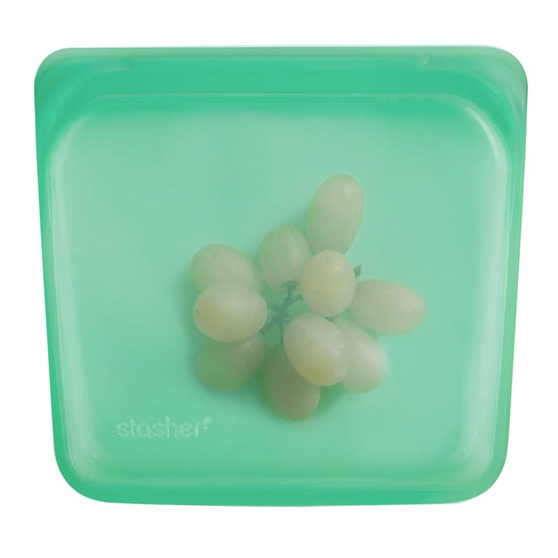 Reusable Silicone Sandwich Bag - Jade