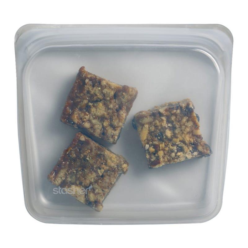 Sac à Sandwich Réutilisable en Silicone - Gris Stardust