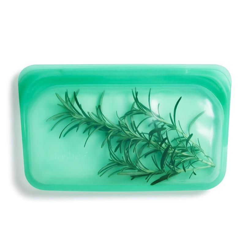 Sac à Collation Réutilisable en Silicone - Vert Jade