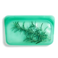Reusable Silicone Snack Bag - Jade