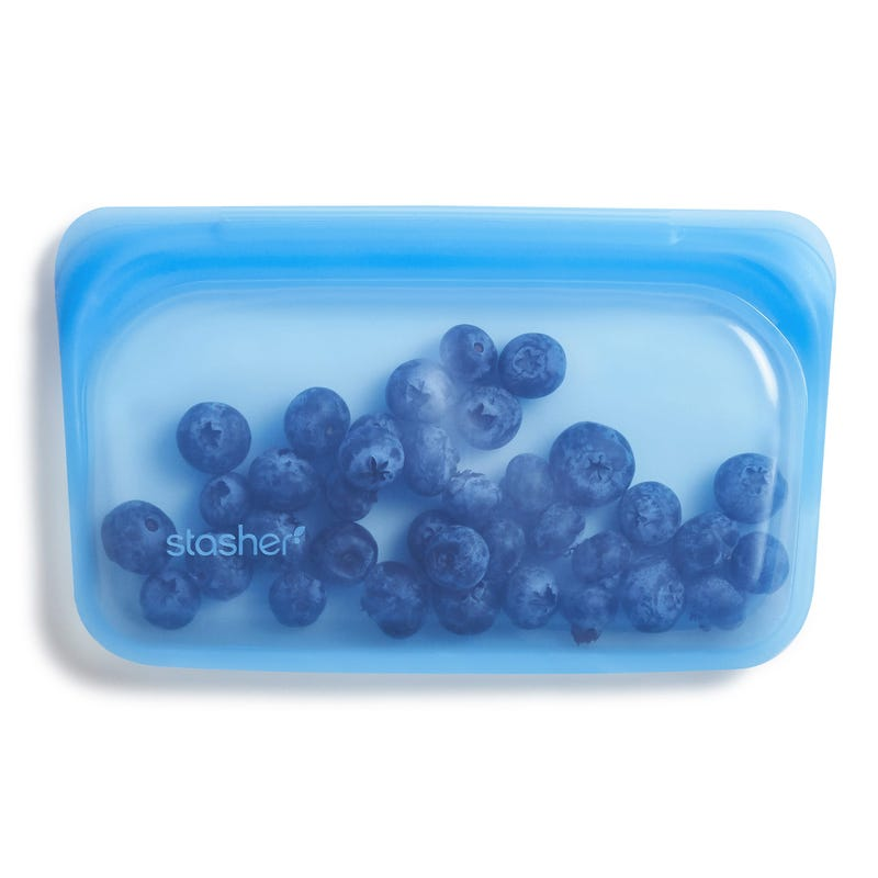 Reusable Silicone Snack Bag - Topaz