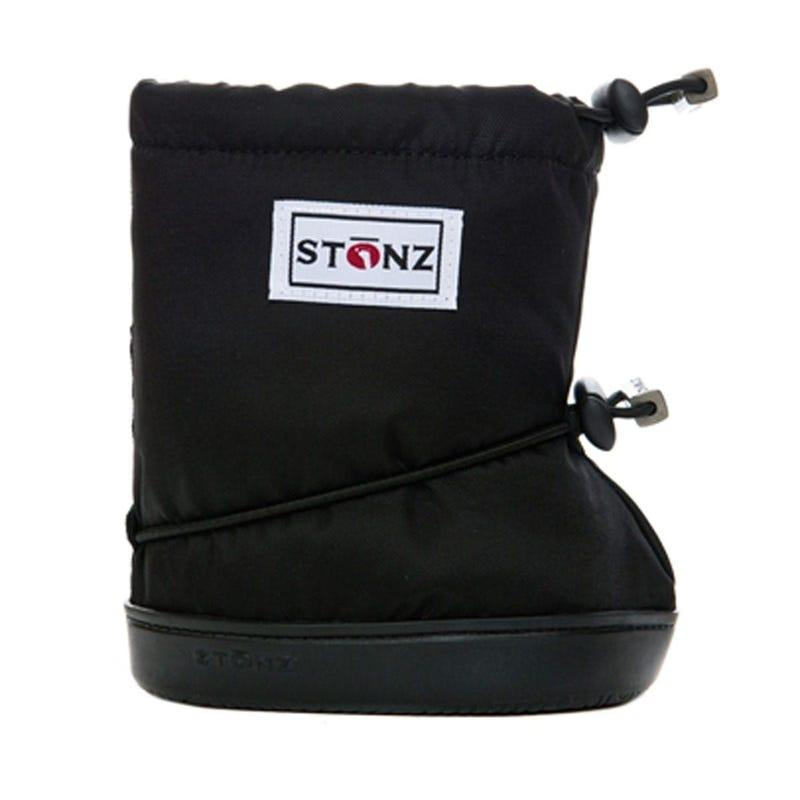 Booties - Plain 1-2y - Black