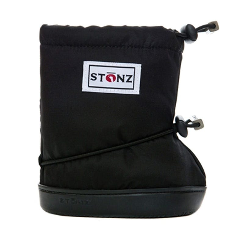 Booties - Plain 6-18m - Black