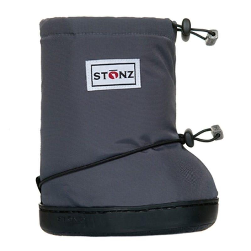 Booties - Plain 1-2y - Grey