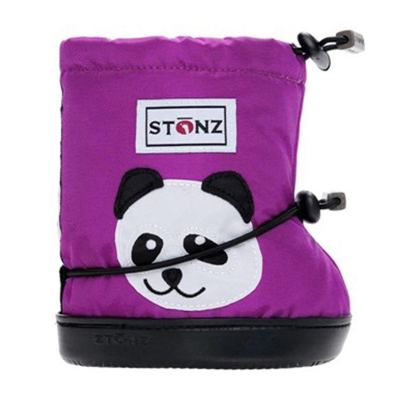 Panda Booties 1-2y