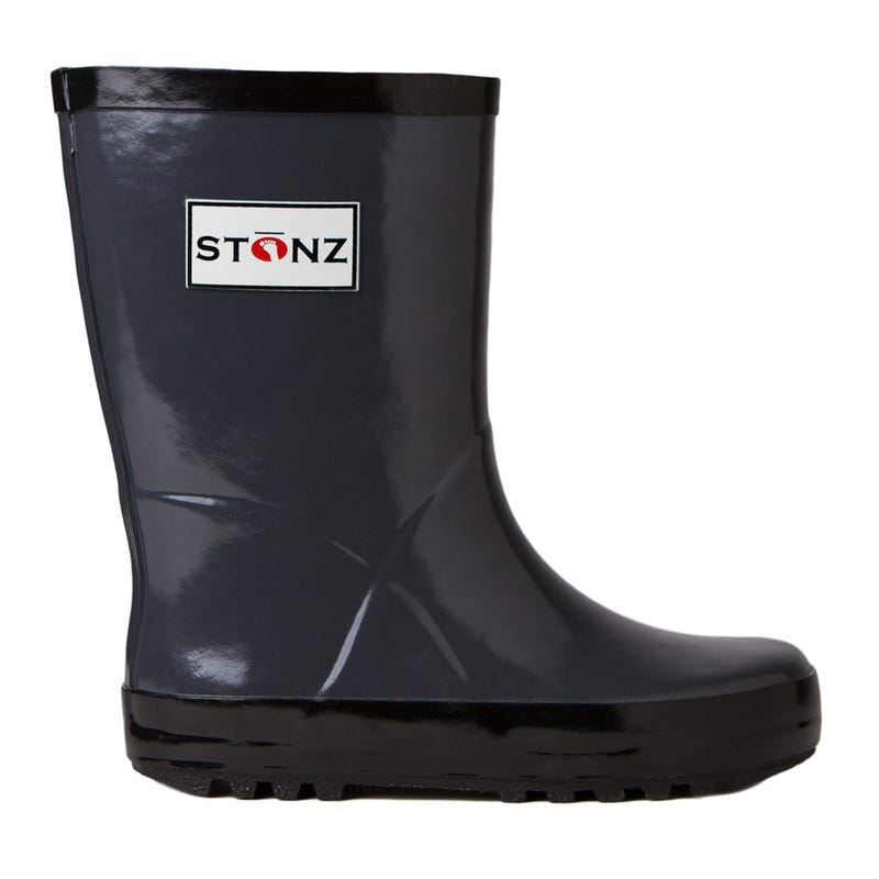 Charcoal Rain Boots Sizes 4-2