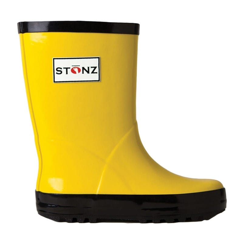 Rain Boots  Sizes 4-2 - Yellow