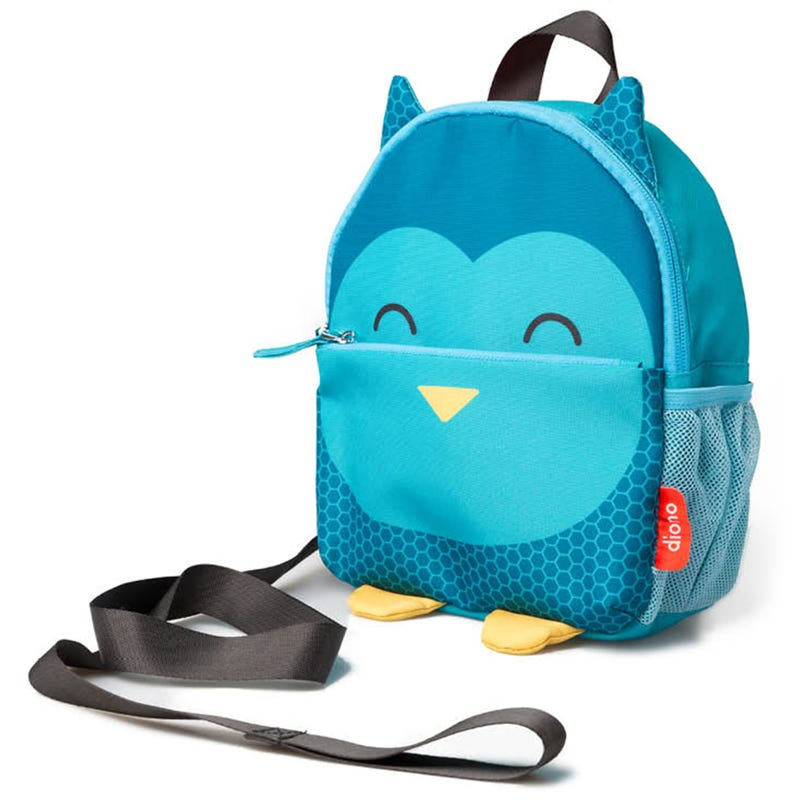 Safety Reins And Backpack - Owl