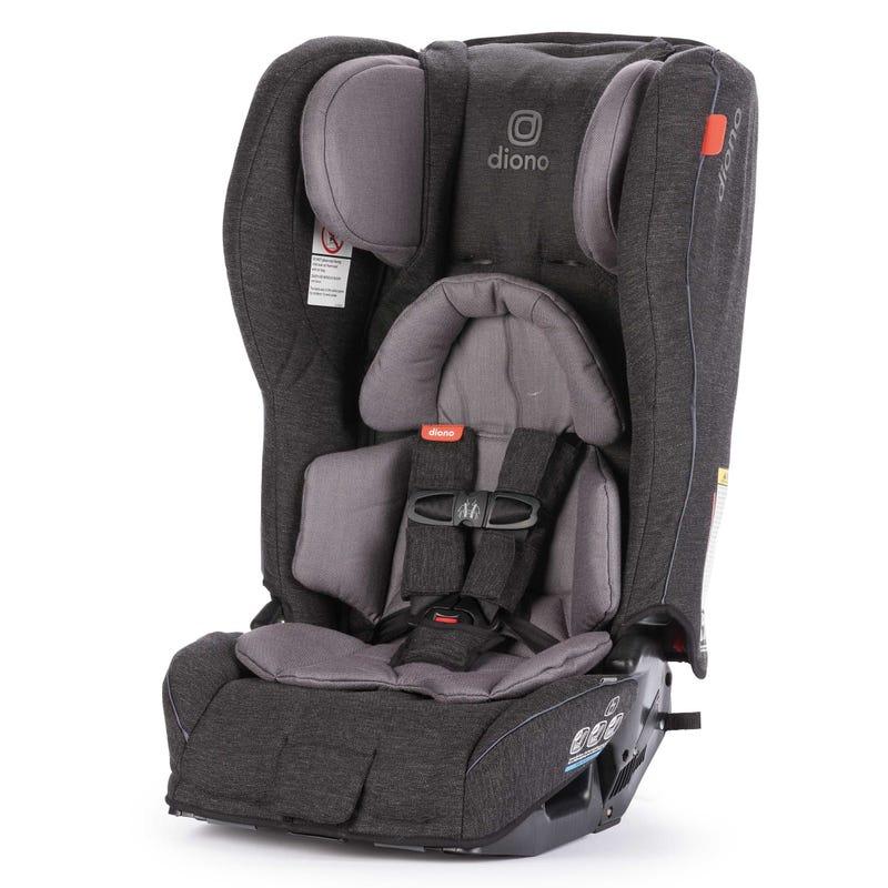 Rainier 2AXT 5-120lbs Car Seat - Dark Gray