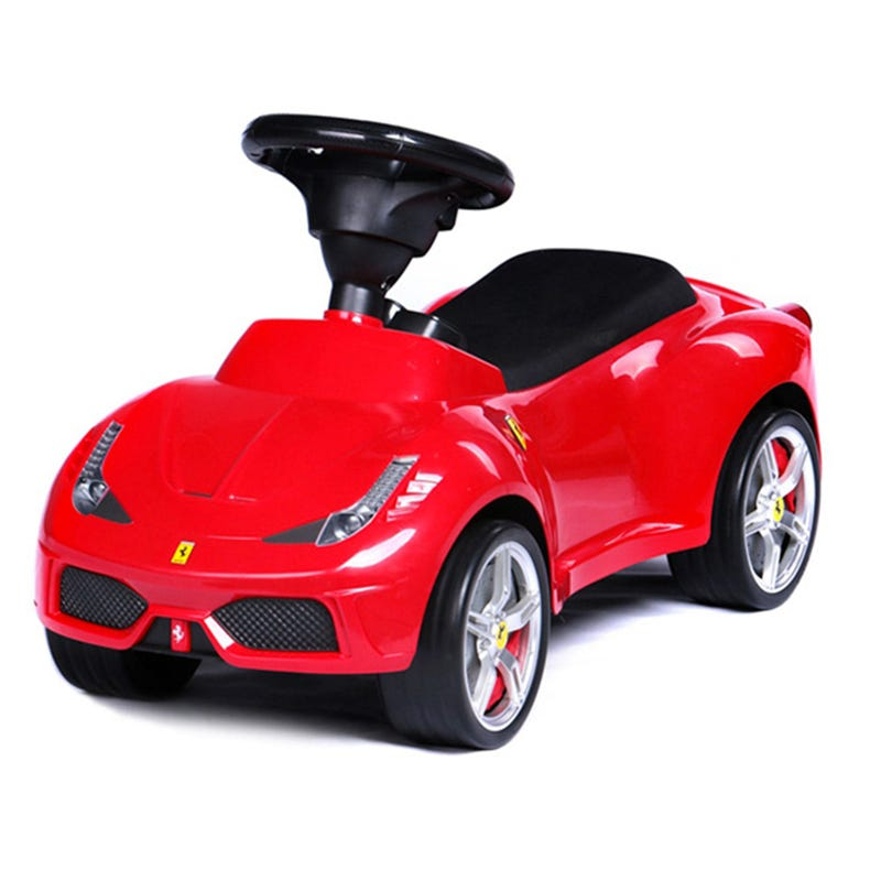 Ferrari 458 Foot To Floor - Red