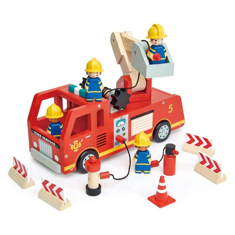 Camion de Pompier 10 Morceaux
