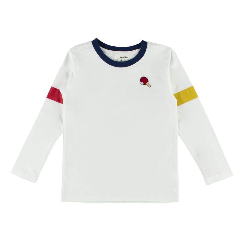 T-Shirt à Manches Longues Ping Pong 2-8ans