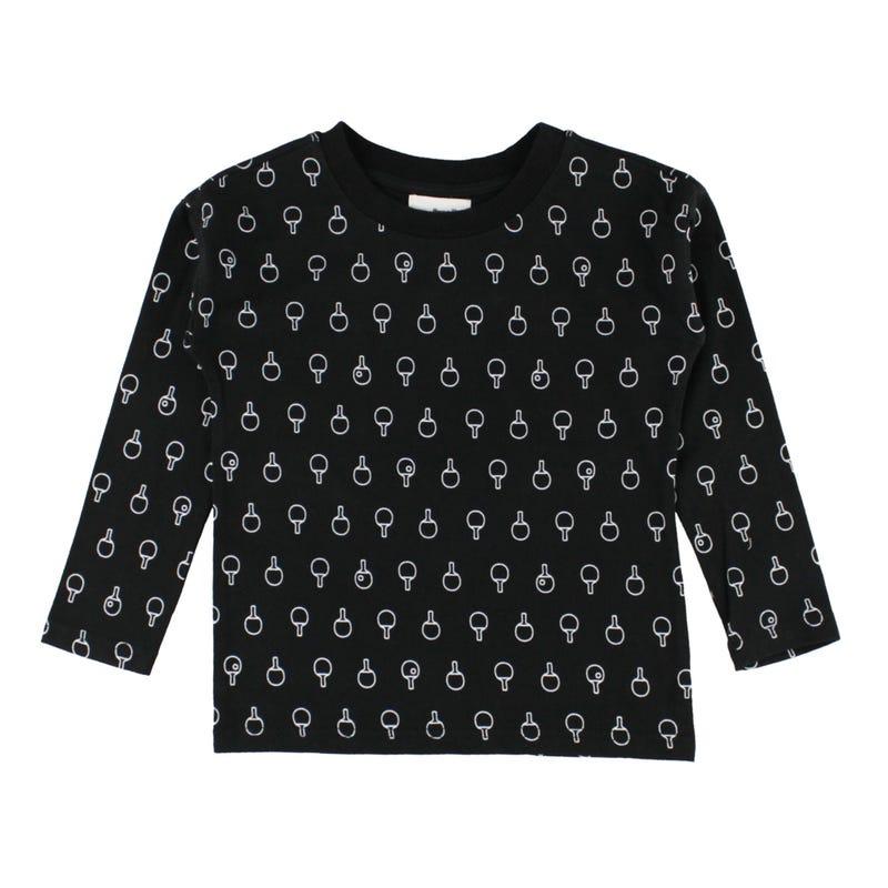 Ping Pong Print L/S T-Shirt2-8