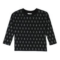 T-Shirt à Manches Longues Imprimé Ping Pong 2-8ans