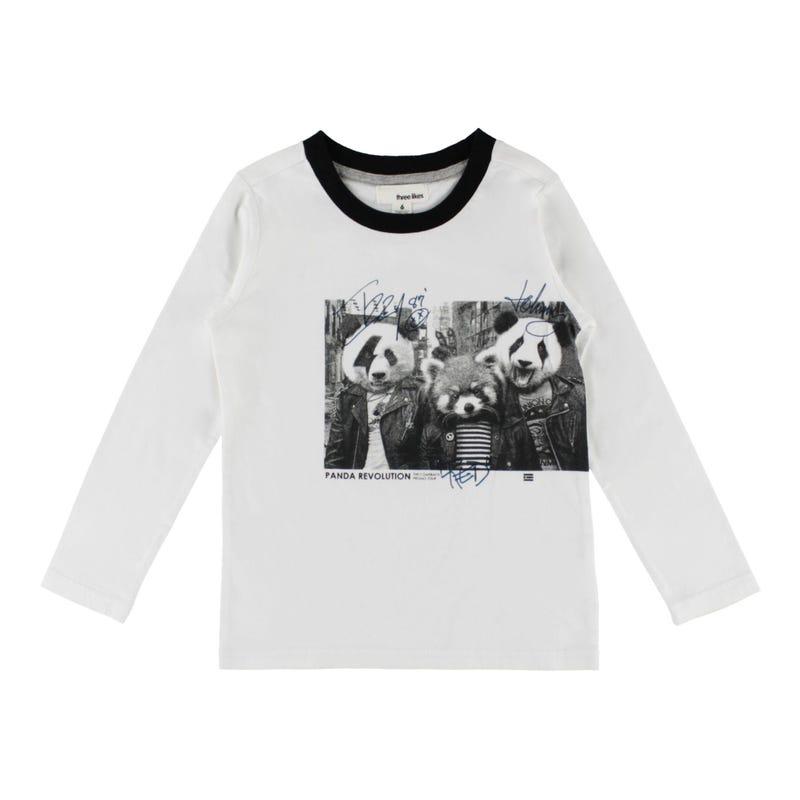 Rock Pandas L/S T-Shirt 2-8