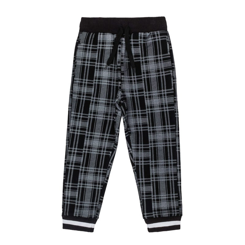 Rock plaid sweatpants 2-8