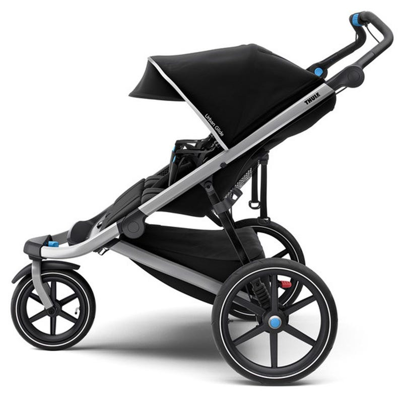 Urban Glide 2 Double Stroller - Jet Black