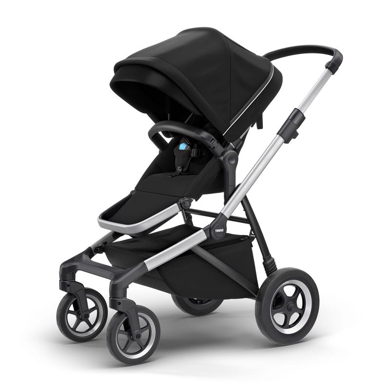 Sleek Stroller - Midnight Black