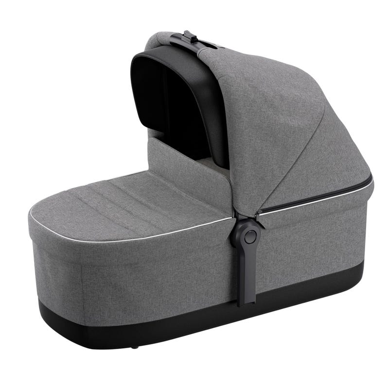 Sleek Bassinet - Gray Melange