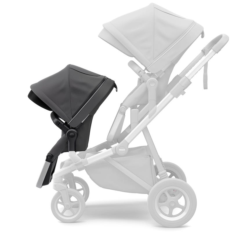 Sleek Sibling Seat - Shadow Gray