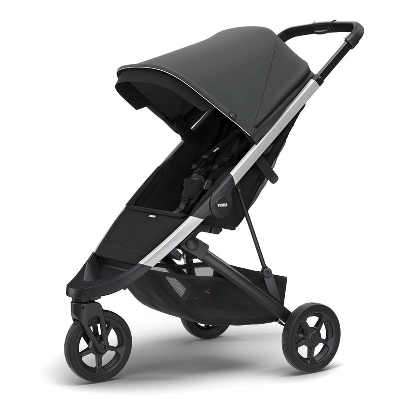 Thule Spring Stroller - Aluminum / Shadow Grey (Pre-order February 2020)