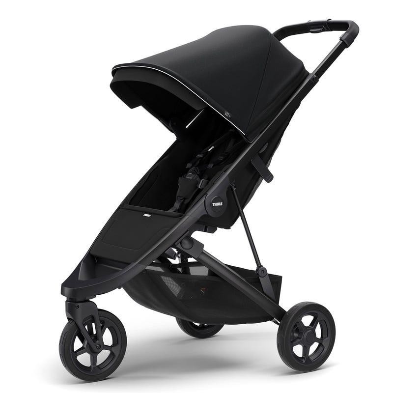 Thule Spring Stroller - Black / Midnight Black (Pre-order February 2020)