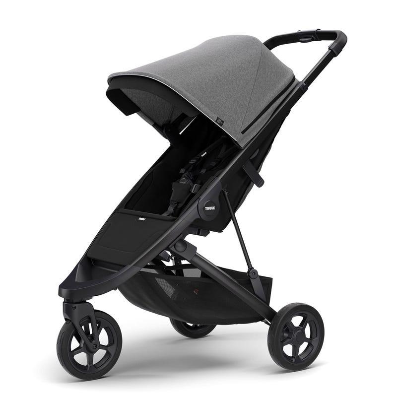 Thule Spring Stroller - Black / Grey Melange (Pre-order February 2020)
