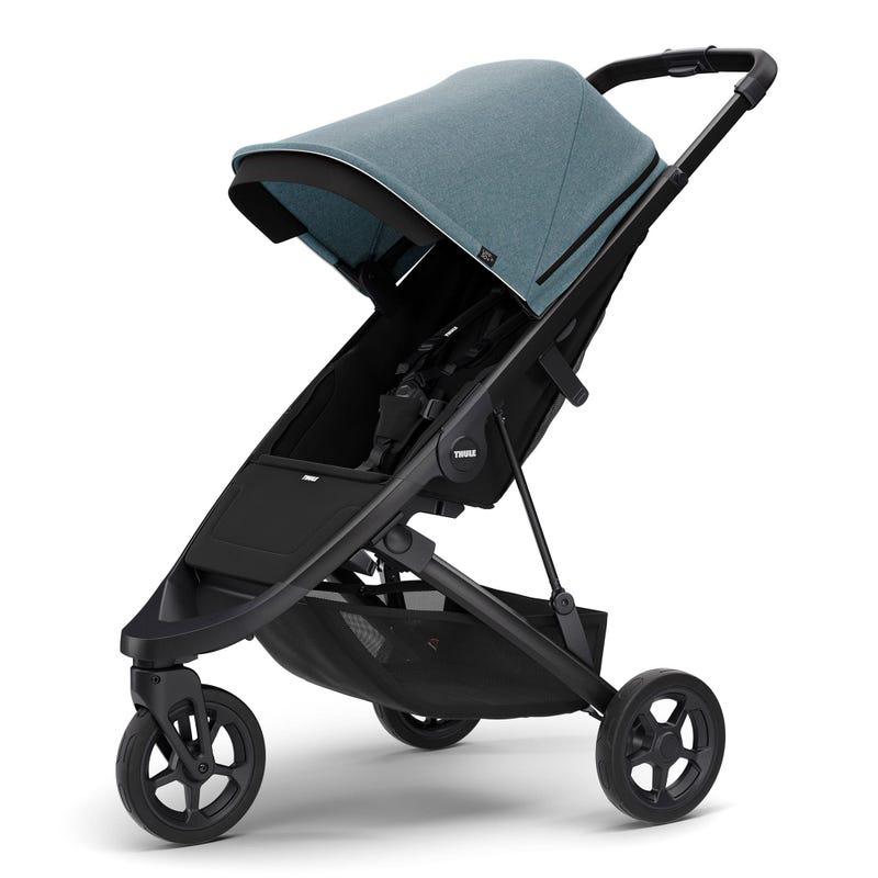 Thule Spring Stroller - Black / Teal