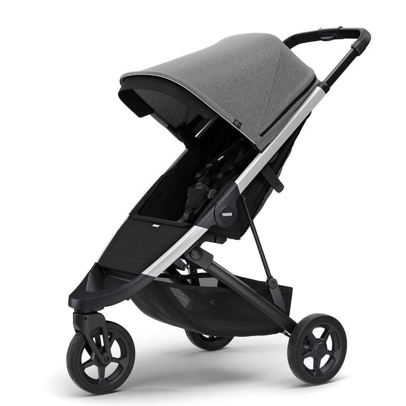 Thule Spring Exclusive Stroller - Aluminum / Grey Melange (Pre-order February 2020)