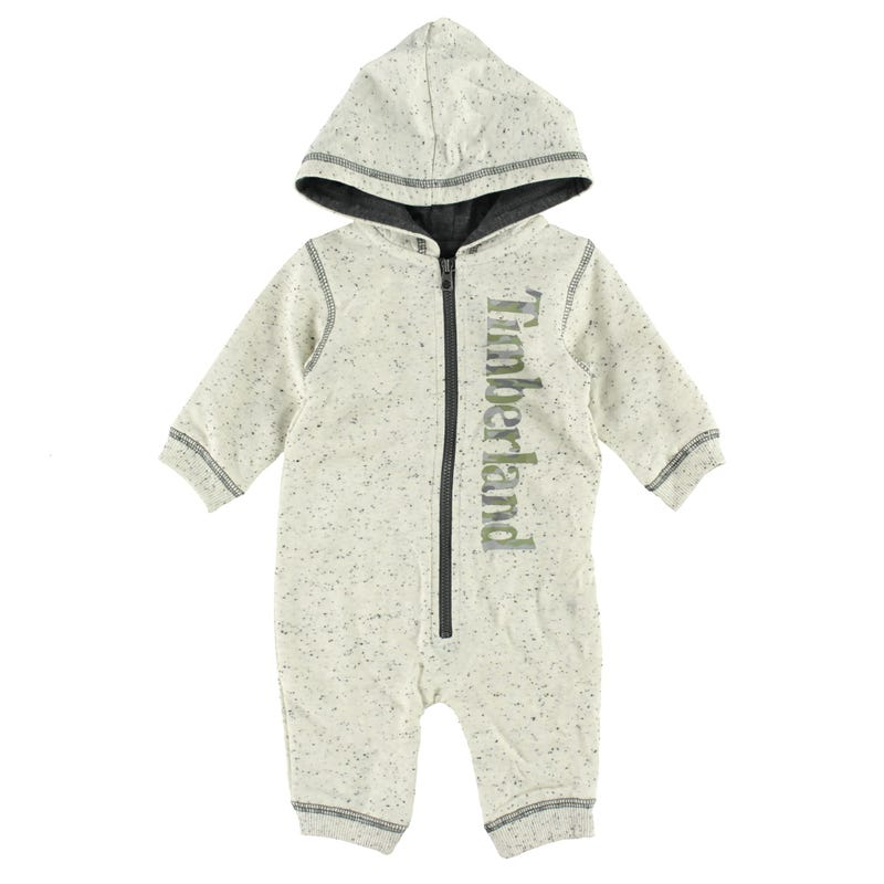 Timberland Hooded Romper 0-9m