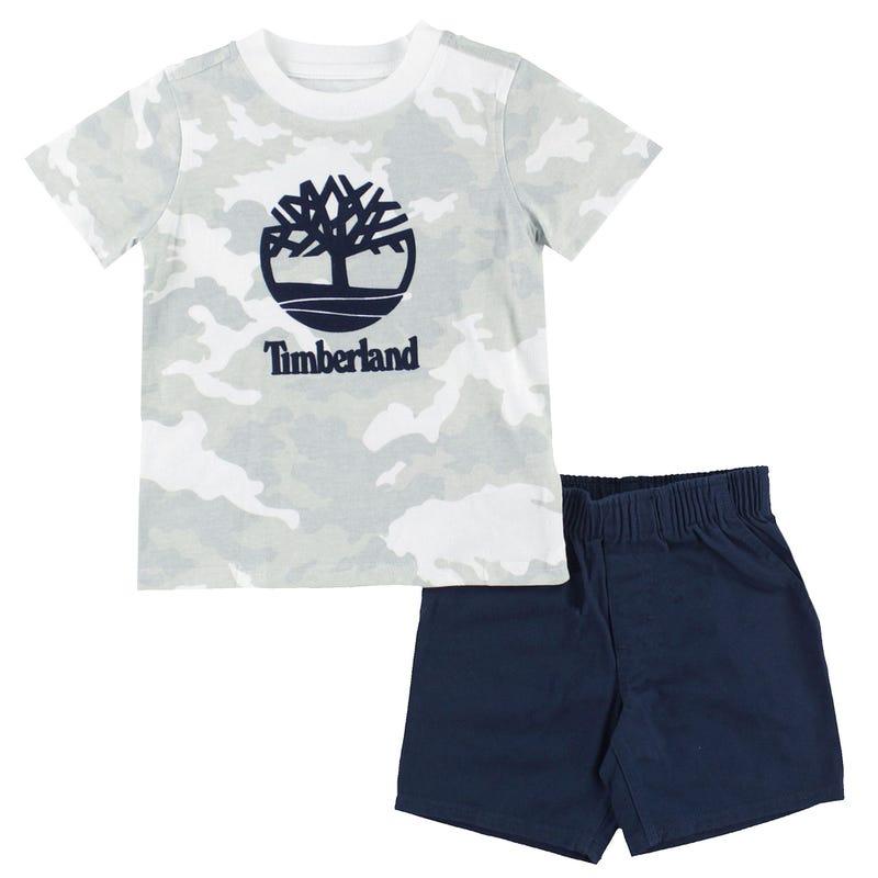 Camo Tree Shorts Set 12-24m