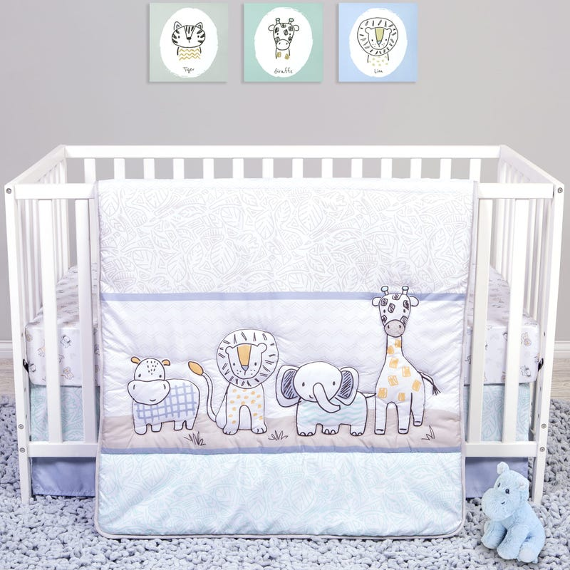 Bedding 4 Pieces Safari